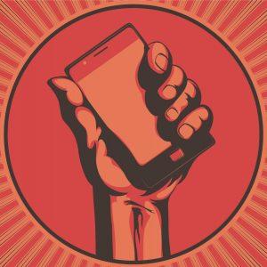 La revolución en manos de las redes sociales