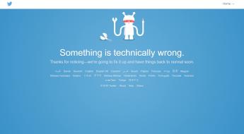 Social Media Marketing - Twitter Error