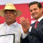 """Presenta Enrique Peña Nieto el programa: """"Soy México, Tu Acta de Nacimiento en Línea"""""""