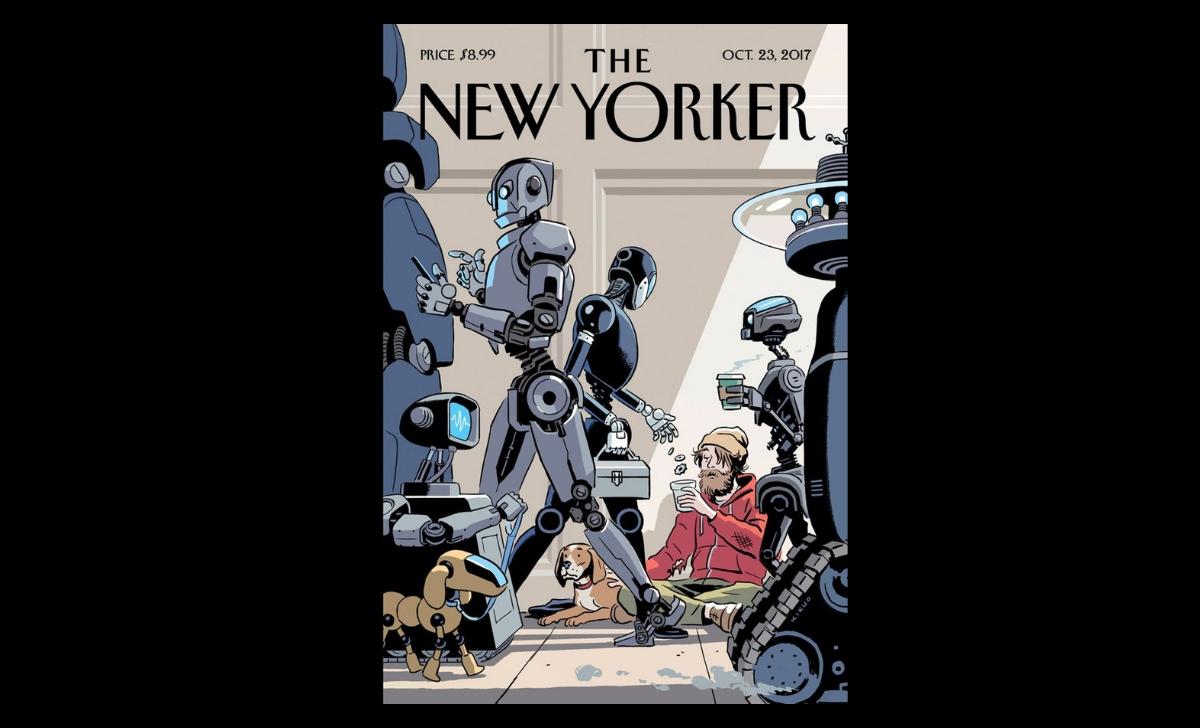 El Futuro de los empleos: en la imagen se muestra la polémica portada de New Yorker sobre el desempleo humano