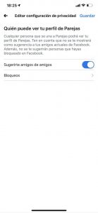 Facebook Dating 2 - sitio Juan Manuel Torres