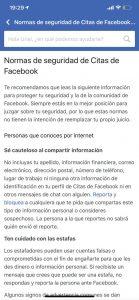 Facebook Dating 4 - sitio Juan Manuel Torres